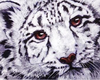 Snow Leopard.. close-up