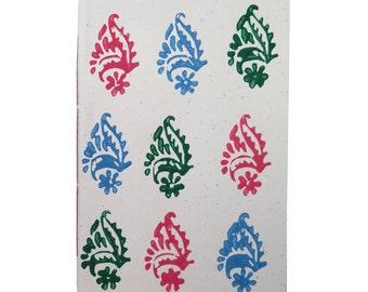 mumbai - 100% recycled paper notebook