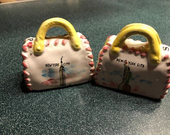 Salt and pepper shakers, New York City