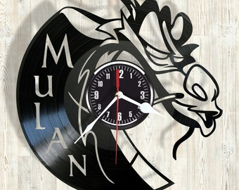 MULAN vinyl record wall clock best eco-friendly gift for any occasion