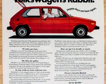 volkswagen rabbit. 1975 vw rabbit ad from (ad146) volkswagen