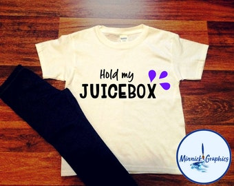 Hold My Juicebox Toddler Graphic Tee