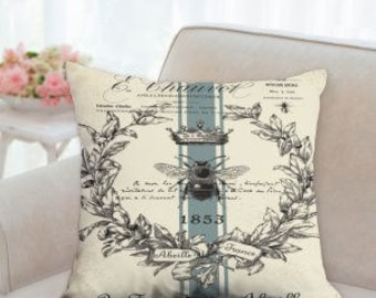 French Country Queen Bee Pillow
