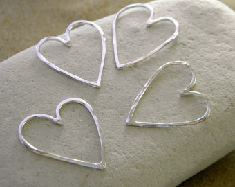 Wild Love Heart in Sterling Silver