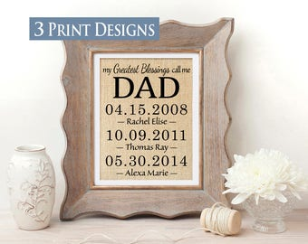 Personalized Gift for Dad Fathers Day Gift from Daughter Father Gift for Fathers Day Present Dad Gift from Son Fathers Day Gift from Wife
