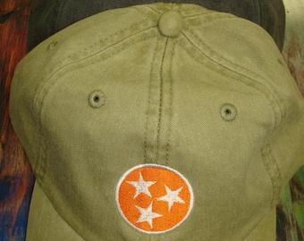 Tennessee Tri-Star Baseball Cap