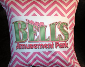 Tulsa Bells Pillow Cover