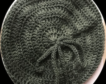 Crochetted Beret