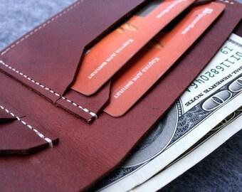Mens wallet Slim bifold Personalized wallet Mens leather marsala wallet Slim Bifold wallet Thin wallet Blue minimalist wallet Mens bifold