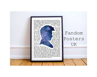 Doctor Who David Tennant Quotes Poster Art