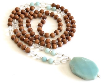 108 mala beads 108 mala necklace 108 mala necklace mala beads necklace mala necklace 108 japa mala mala amazonite necklace mala with pendent
