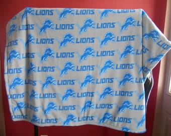 Fleece Blanket/Detroit Lions/ NFL/Football/ Full size
