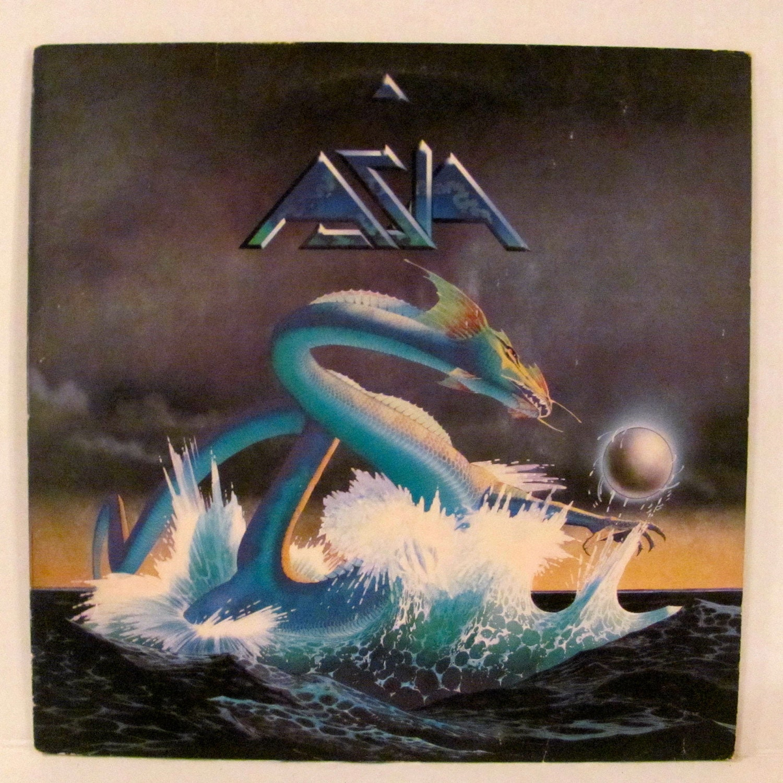 Asia Record Album Cover And Record