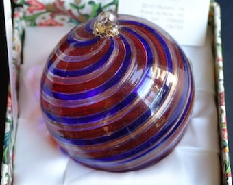 Murano Venetian Glass Christmas Ornaments