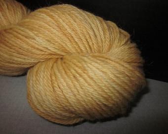 Handpainted Baby Alpaca Merino Yarn (Eggnog) 100 yds 91.4 grams