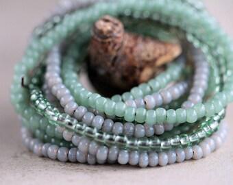 Fern Seed Bead Mix Czech Glass Beads Seed Beads 6/0 Mix of Fern Beads Glass Beads Perles Perline Spacer Beads Jewelry Making Bead Supply 60g