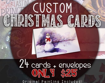 Custom Christmas Cards - (Painting or Graphic Design)