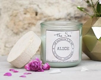 For her - personalized scented candle