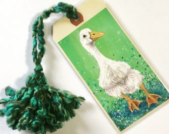 Puddle Duck Bookmark