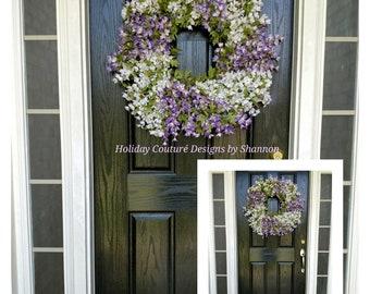 Stock Flower Wreath