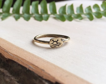 UFO Jewelry ∆ UFO Ring ∆ Alien Jewelry ∆ Nerdy Gift ∆ Extraterrestrial ∆ Outer Space ∆ Alien Abduction ∆ Space Grunge ∆ Universe ∆ Galaxy