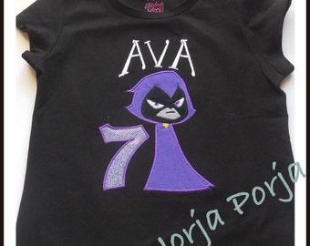 Raven Inspired Birthday Tshirt