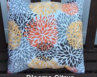PREMIER PRINTS Blooms, Citrus, chili pepper Pillow Cover- - Envelope Closure