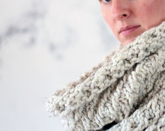 Cozy Cowl Knitting Pattern - MAGNANIMITY - a set of instructions to knit the cowl
