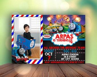 Thomas The Train Birthday Invitations, Thomas The Train Invitation, Thomas The Train Birthday, Thomas The Train, Thomas Birthday Party