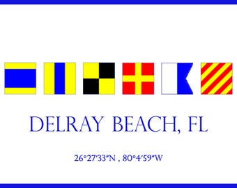 Delray Beach, FL -  Welcome Sign