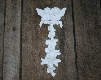 Furniture appliques / onlays / shabby chic / furniture mouldings / appliques / painted furniture / angels / DIY