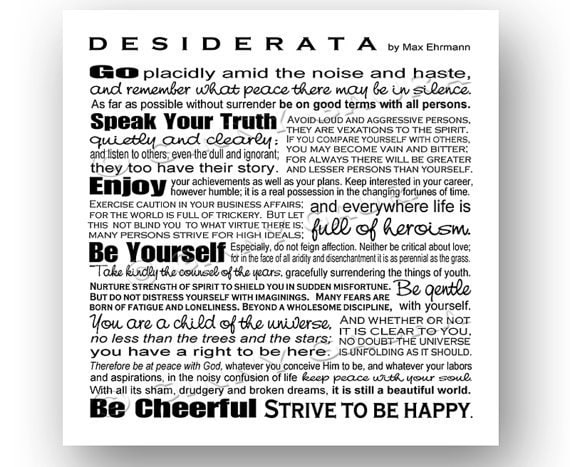 Impeccable image intended for printable desiderata