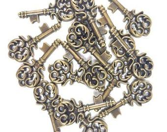 20 embellishments key - Steampunk - B1176811 embellishments