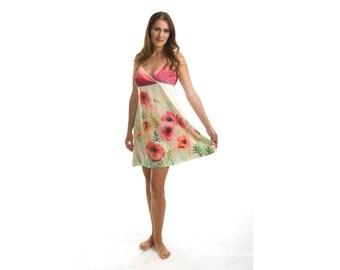 Silk lingerie, Nightwear for women, Honeymoon lingerie, Boho lingerie, Silk nightgown, Silk sleepwear, Silk nightdress, Sleepwear for women