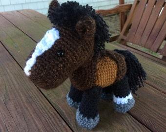Custom Crochet Horse or Pony- Simple