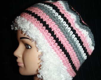 Super warm hat with earflaps in wool