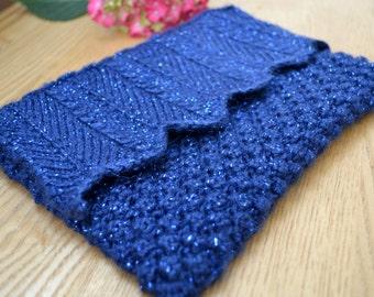 Blueberry Clutch Bag Knitting Pattern