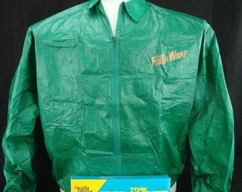 Vintage 1992 SALEM Cigarettes TYVEK Windbreaker Jacket Sz XL 44-46. Mint / New in Box