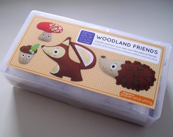 Sew Your Own Woodland Friends Kit