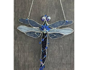 Dragonfly stain glass