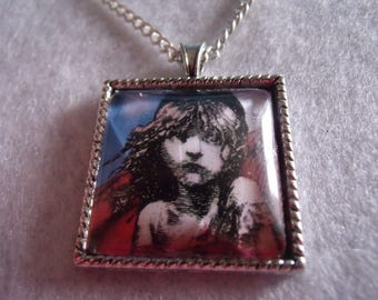 Theater Les Miserables glass pendant
