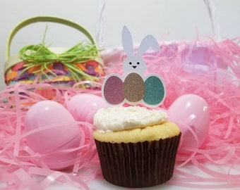Easter Cupcake Toppers - 6 pc. in 1 pk.