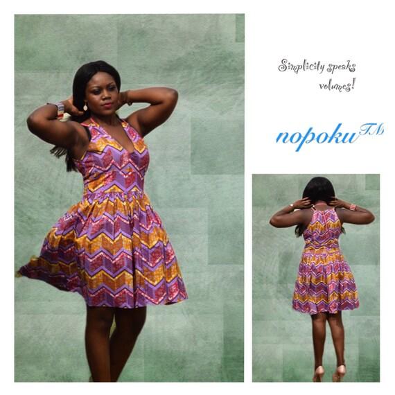 Ankara Kleider Print Kleid Kitenge afrikanischen Print