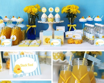 Duck Baby Shower ...
