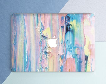 Paint Macbook case Painting Macbook pro case Art Macbook pro 13 case Macbook pro 15 Macbook air case Pink Macbook air 13 case Macbook 12