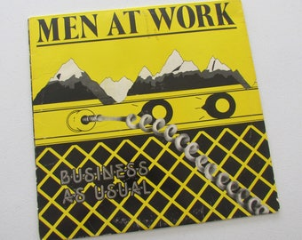 Men At Work, Business As Usual, Vinyl LP Record Album, FC 37978, 80s Pop Rock