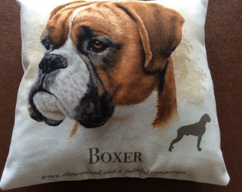 Boxer mini cushion