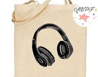 Tote bag music