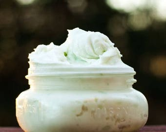 Whipped Body Butter with orange, lemon,peppermint essential oils