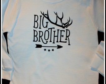 Big Brother Shirt with Antlers
